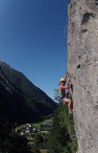 Cascade de Tyroliennes